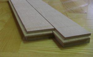 Stabparkett 22 mm und 13 mm